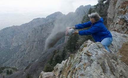 Scattering the cremated remains